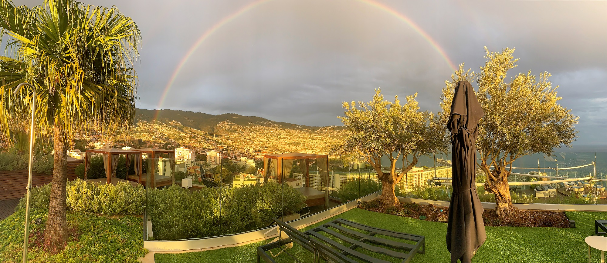 Vistas desde Hotel Funchal